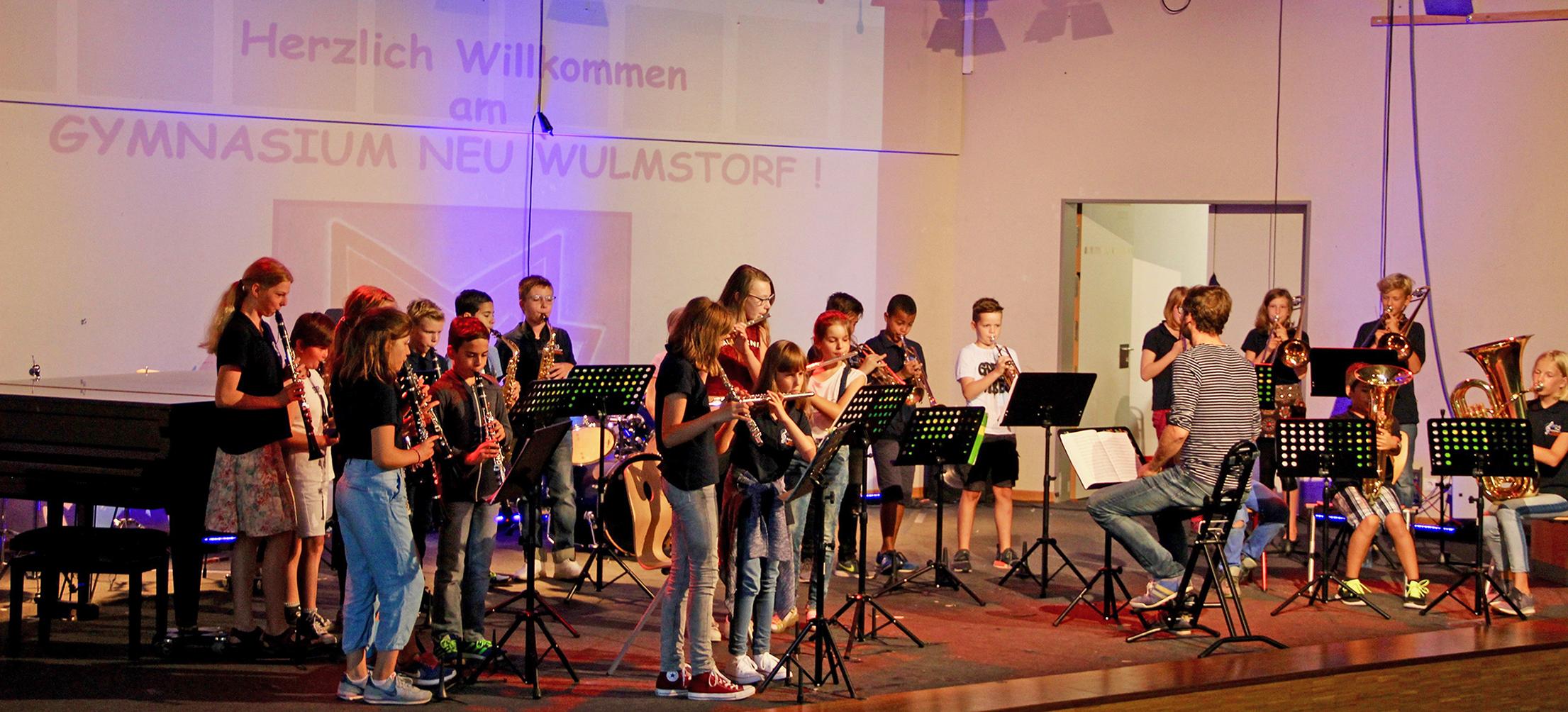 Föerdung begabter Schüler Musik