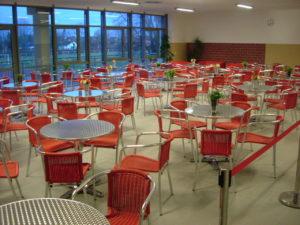 Mensa, Cafeteria, Cafta