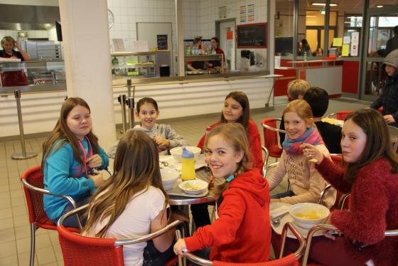 Gutes Essen für Schüler