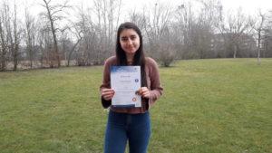 Auszeichnung für Farsana